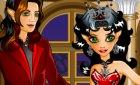 Winx игра вам! Поцелуи с вампиром и Картинки с Рокси