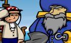 Игра ищем сокровища на острове для сайта winx!