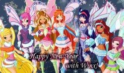 Поклонницы Winx Club участвуйте в Новогодний викторине!