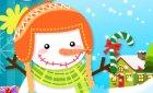 Игра делаем снеговика и винкс Манекены !