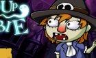 Игра Одеваем Зомби на день Хэллоун для winx