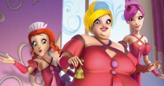 Анегдоты винкс и игра для девочек одевалка